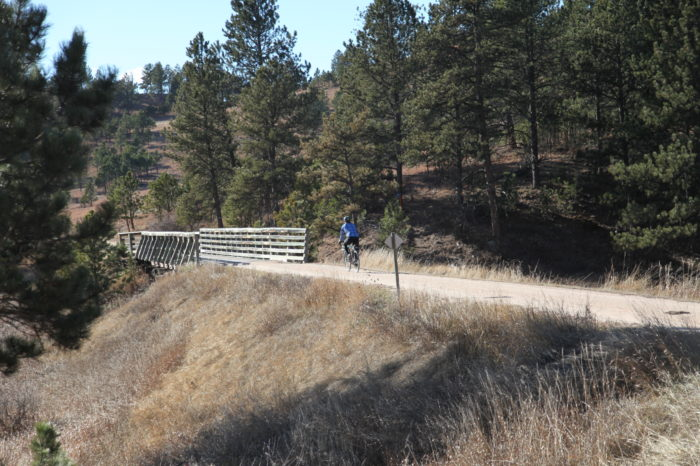 Mickelson Trail Biking Day Tour