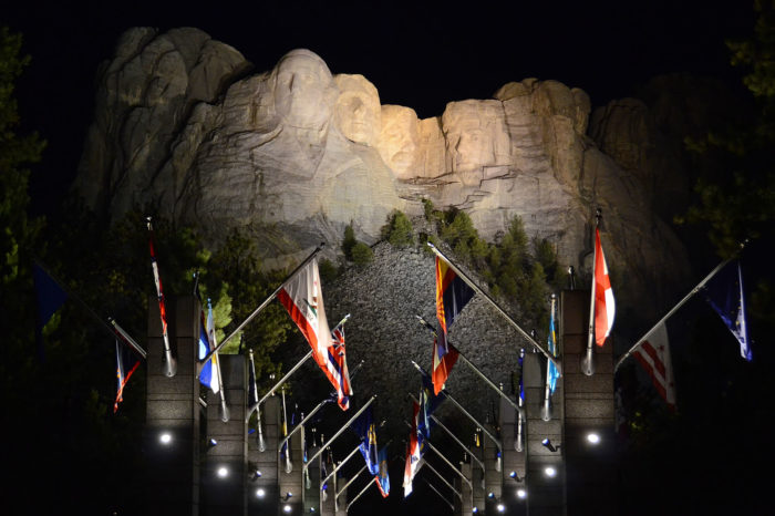 Mount Rushmore Lighting Ceremony Tour